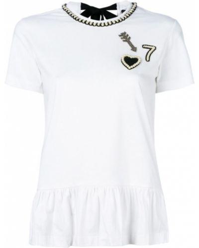 Белая рубашка хлопковая Markus Lupfer