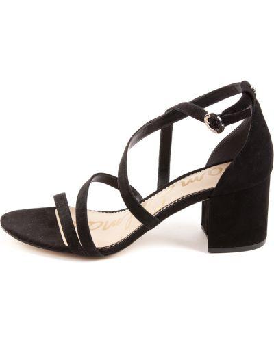 Czarne sandały Sam Edelman