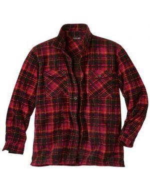 Рубашка в клетку теплая Atlas For Men