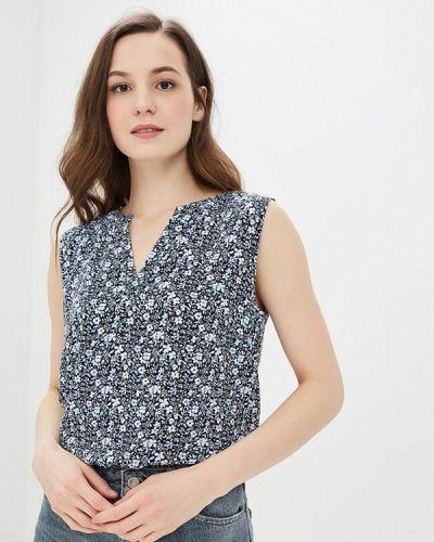 Блузка без рукавов синяя весенний Tom Tailor