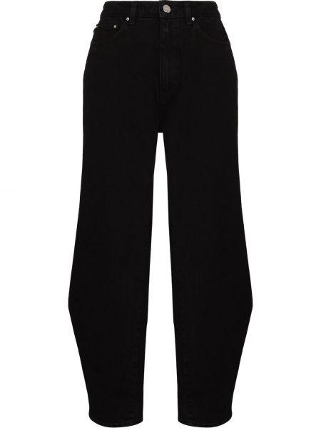 Джинсовые широкие джинсы - черные Toteme