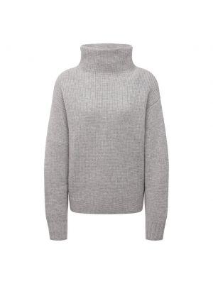 Кашемировый свитер - серый Le Kasha