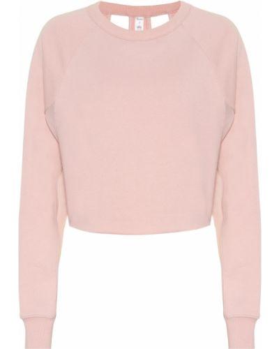 Облегченная розовый свитер Alo Yoga