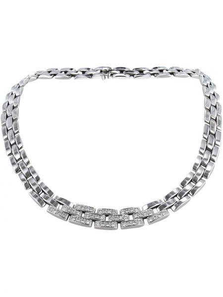 Ожерелье - белое Cartier