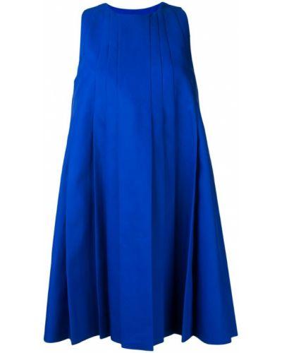 Синее платье хлопковое Paule Ka