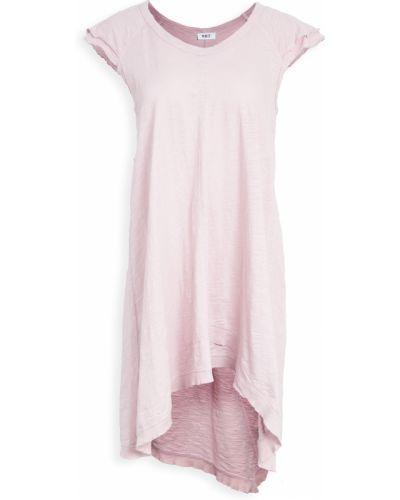 Облегченное ватное трикотажное платье миди Wilt