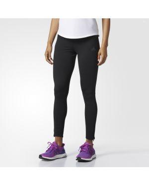 Ciepłe czarne rajstopy Adidas