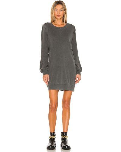 Платье рубашка - черное La Made