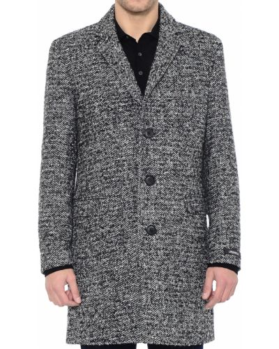 Пальто шерстяное из альпаки Lagerfeld