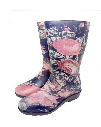 Резиновые сапоги сетчатые - розовые Realpaks