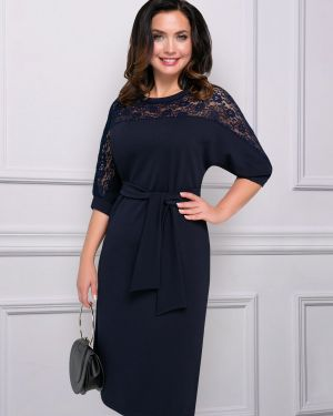 Вечернее платье с поясом платье-сарафан Charutti