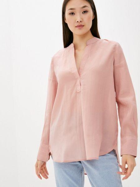 Розовая блузка с длинным рукавом Nice & Chic