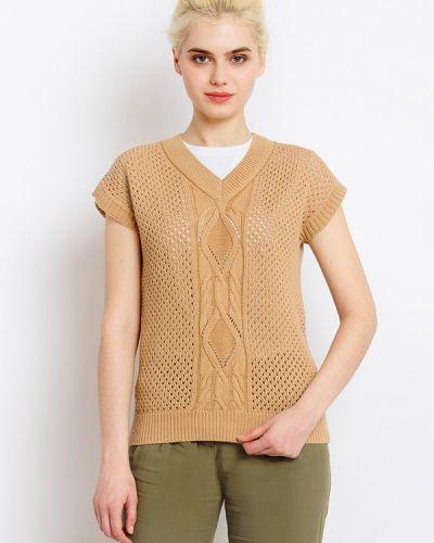 Бежевый пуловер Finn Flare