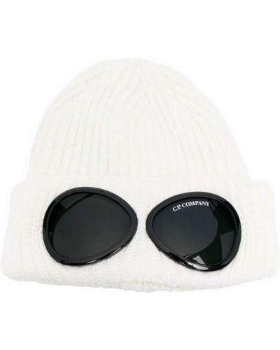 Biała czapka z daszkiem C.p. Company