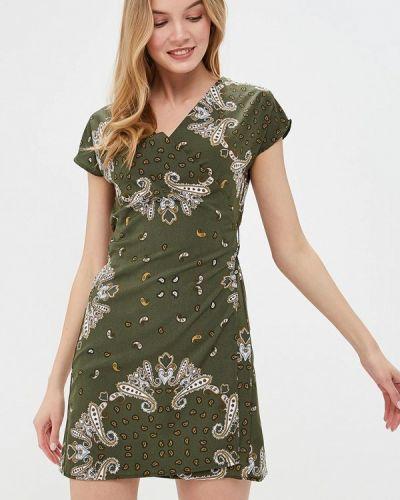 Платье зеленый Modis