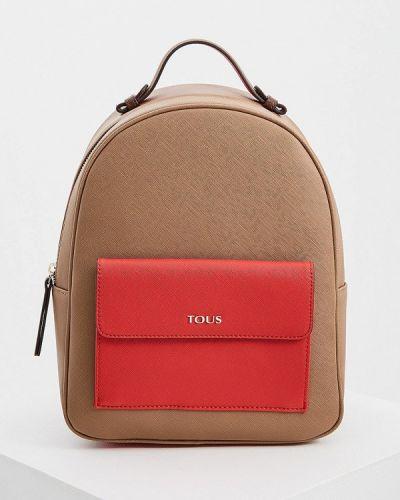 Кожаный рюкзак - коричневый Tous