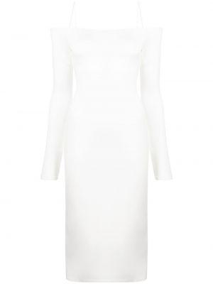Платье макси с длинными рукавами - белое Alice+olivia