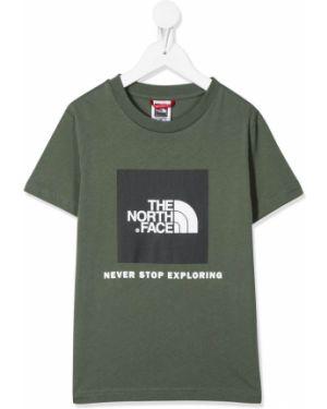 Зеленая рубашка The North Face Kids