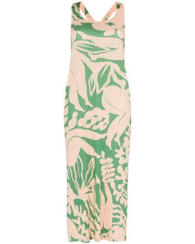 Платье миди на пуговицах на бретелях Pleats Please By Issey Miyake