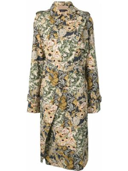 Пальто классическое с воротником Rokh