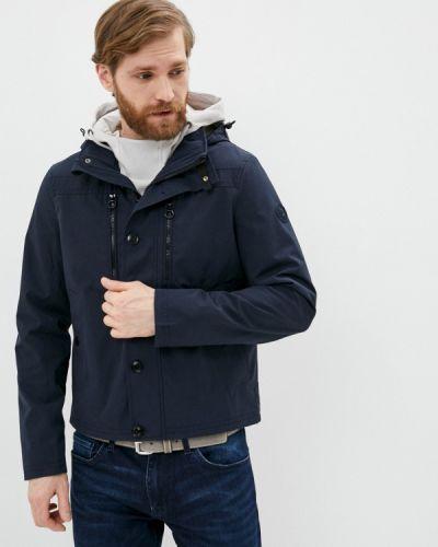 Облегченная синяя куртка S.oliver
