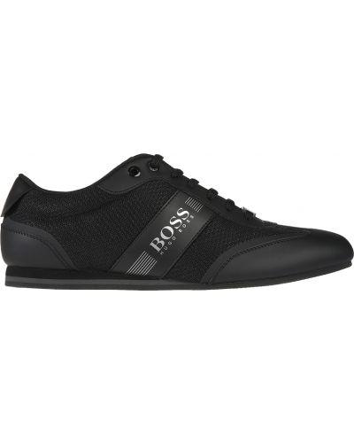 Черные кроссовки Hugo Boss