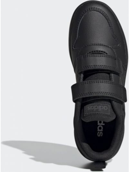 Кожаные кроссовки - черные Adidas