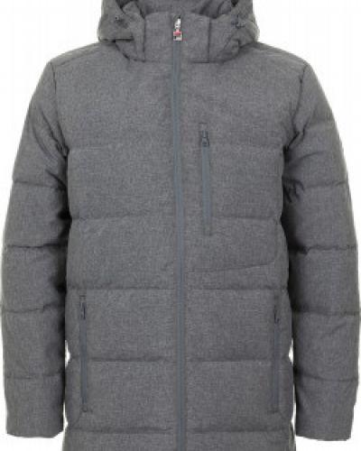 Зимняя куртка длинная с капюшоном Fila