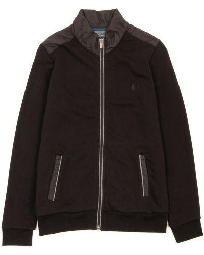 Черная кофта с длинными рукавами с карманами Benson & Cherry