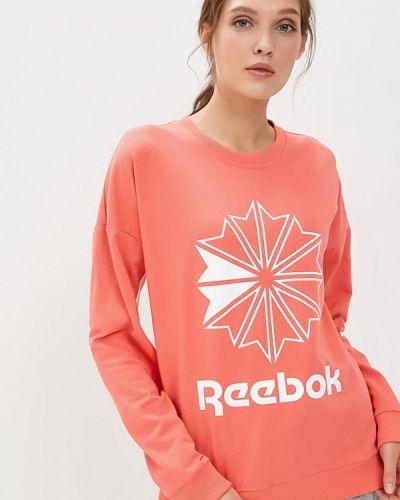 Толстовка коралловый красный Reebok Classics