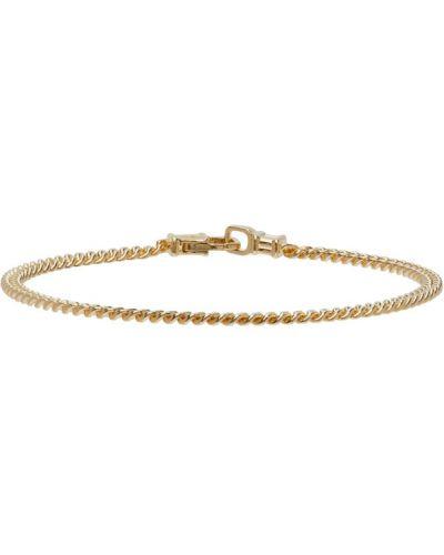 Złota bransoletka ze złota pozłacana Tom Wood