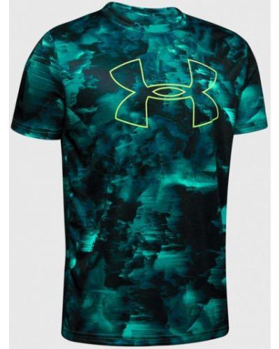 Бирюзовая спортивная футболка Under Armour