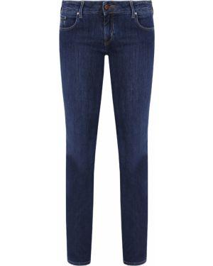Джинсы синие с накладными карманами Jacob Cohen