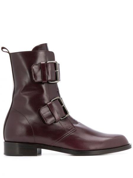 Ботинки на каблуке на шнуровке без каблука Michel Vivien