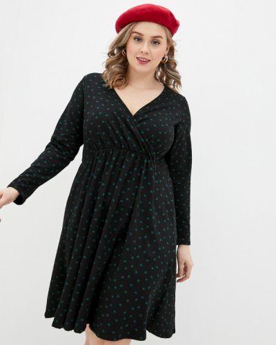 Повседневное черное платье Dorothy Perkins Curve