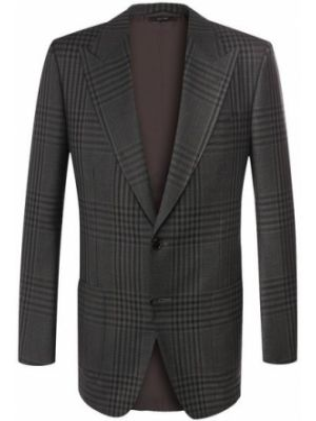 Шерстяной пиджак - серый Tom Ford