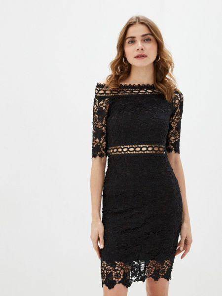 Черное вечернее платье Liana