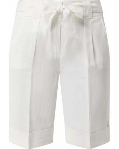 Białe bermudy z wiskozy Betty Barclay