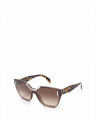 Солнцезащитные очки коричневый Prada