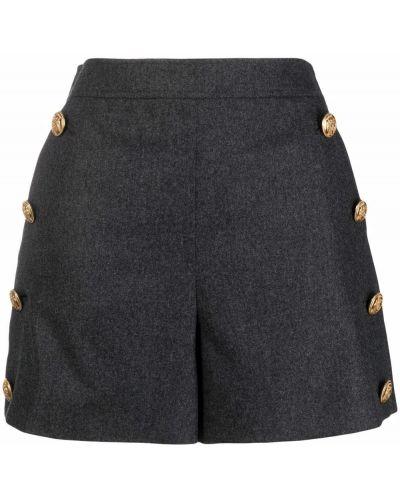 Серые шорты с завышенной талией Boutique Moschino