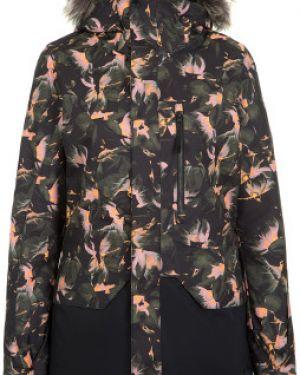 Куртка с капюшоном утепленная черная O`neill