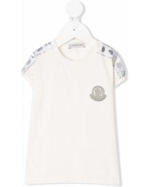 Белая рубашка Moncler Kids