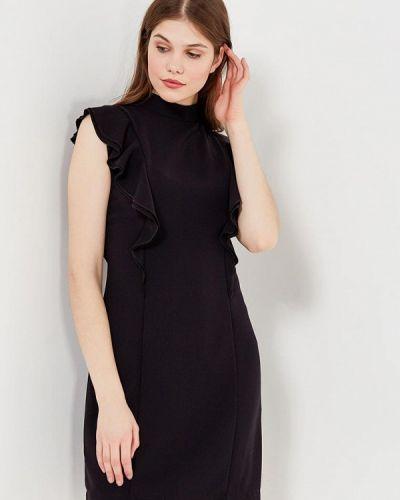 Черное платье осеннее Echo