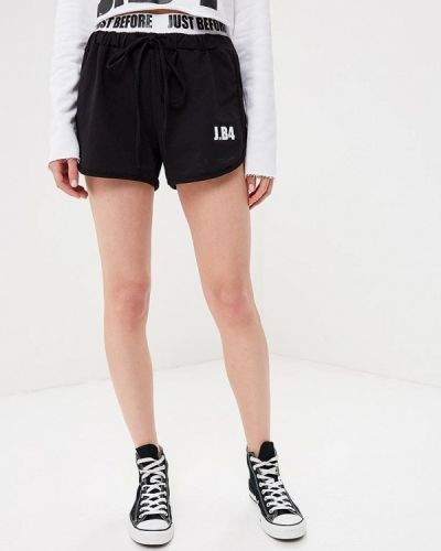 Спортивные шорты черные итальянский J.b4