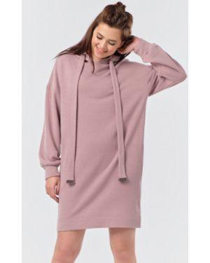 Платье с поясом с капюшоном на молнии Fly
