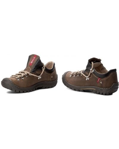 Туфли классические - коричневые Nagaba