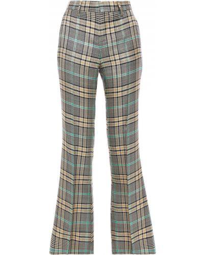 Расклешенные серые брюки с поясом Each X Other