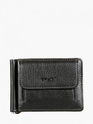 Кожаный черный кошелек Galib
