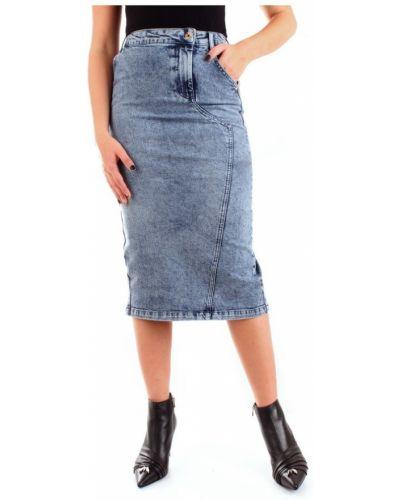 Niebieska spódnica jeansowa Patrizia Pepe