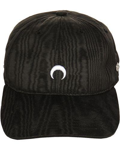 Czarna czapka Marine Serre